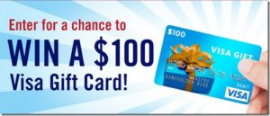 Take our Survey for a chance to win $100 Gift Card