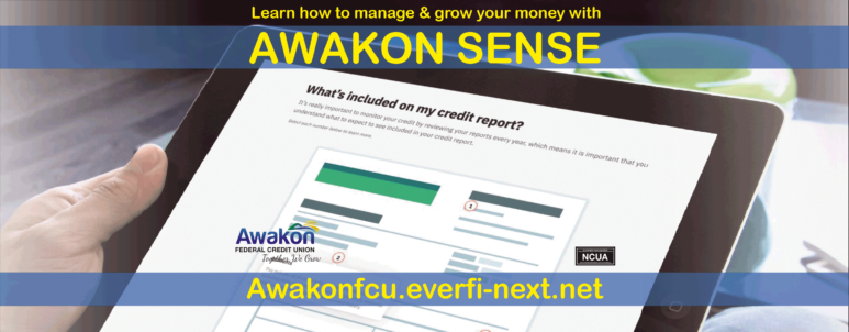 Awakon Sense Money Management Ad.