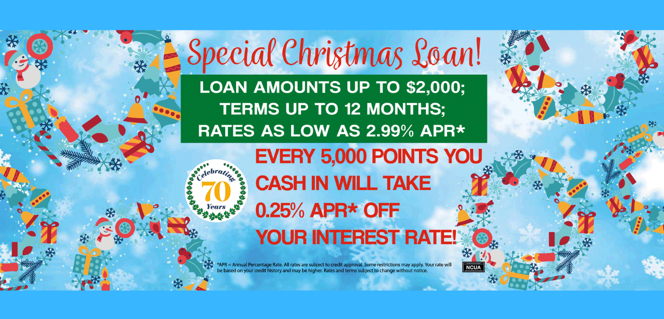 Christmas Loans as low as 2.99% APR