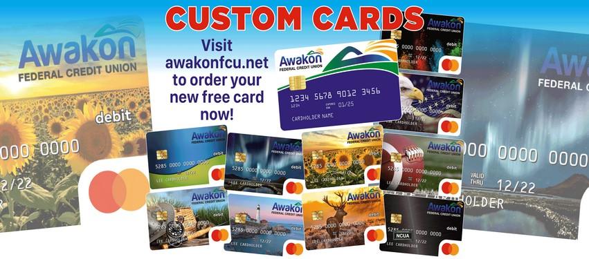Custom Cards now available