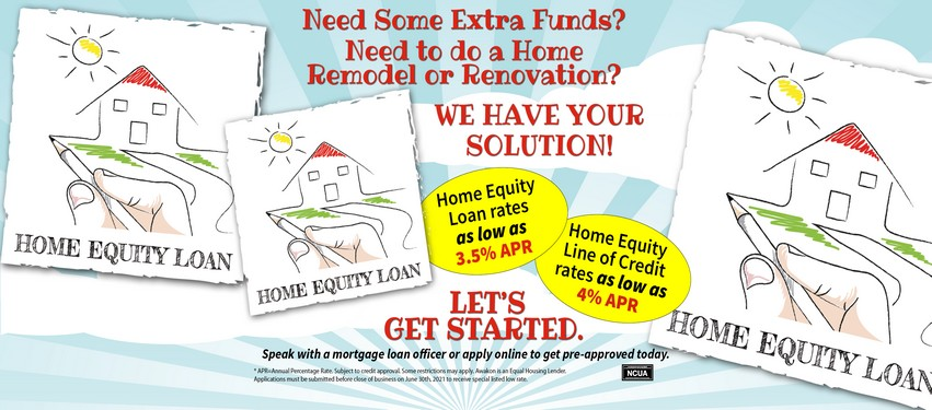 Contact us for a Home Equity Loan