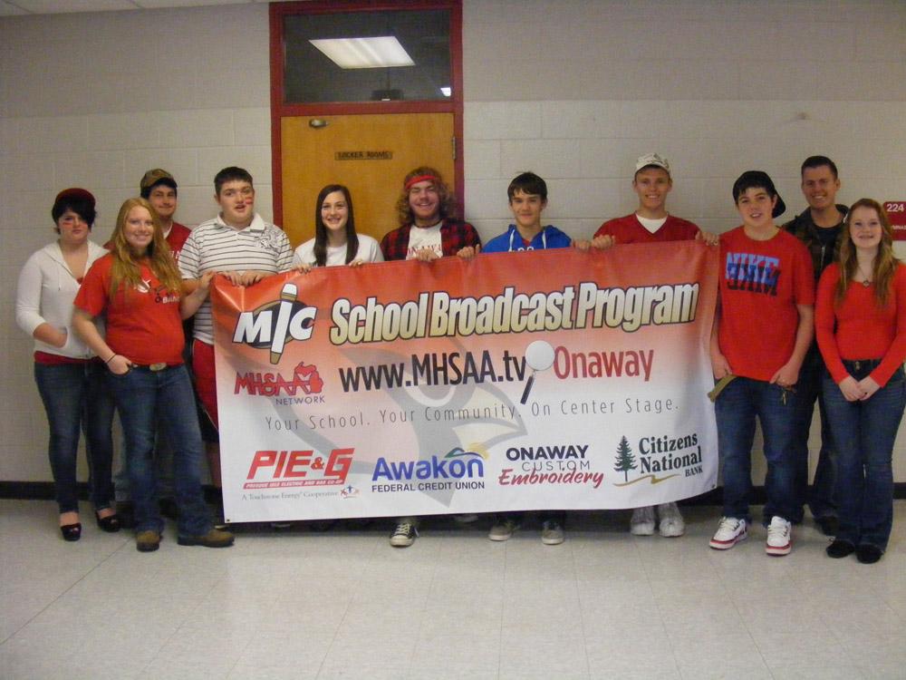 Onaway Broadcast Class