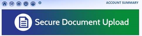 Secure Document Upload link